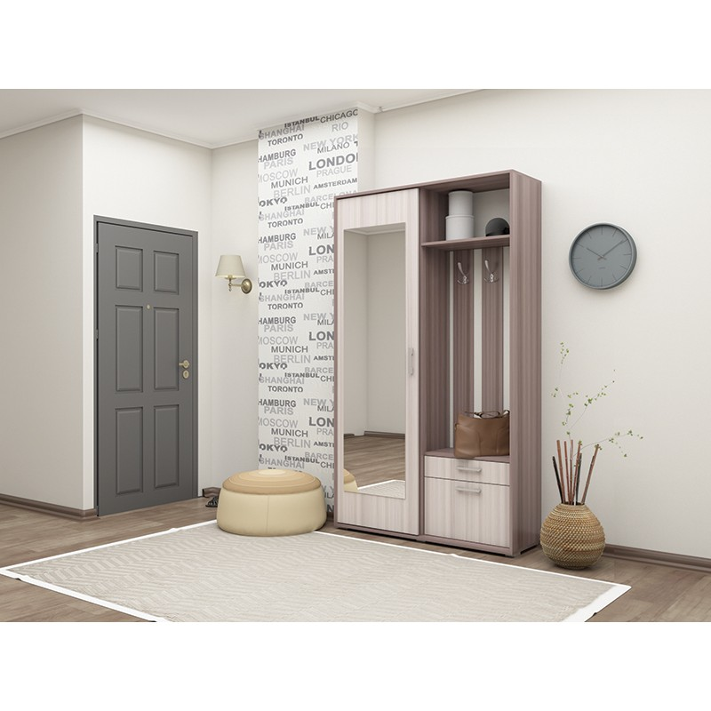 """Прихожая-купе """"дарина"""" 1,2 - интернет магазин мебели в севас."""