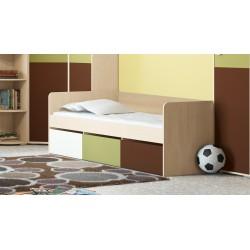Кровать с 3-мя ящиками «Тетрис» ПМ-154.02